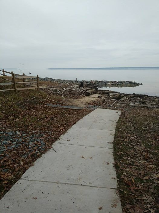 Clean up at Widewater State Park