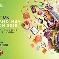 Study UK Business and MBA Exhibition 2018 - Mumbai