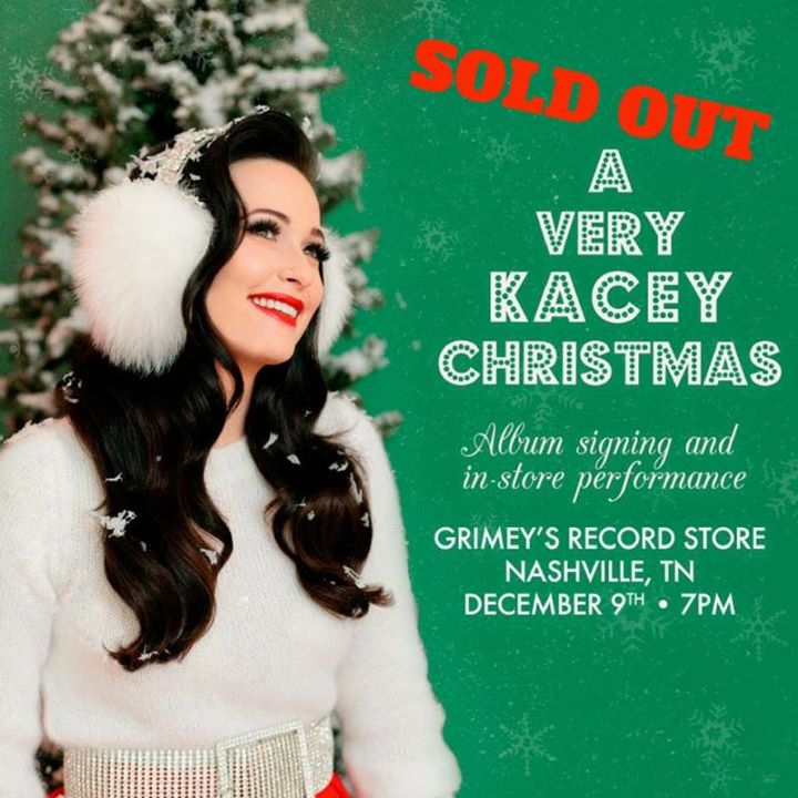 SOLD OUT Kacey Musgraves Christmas at Grimeys | Nashville