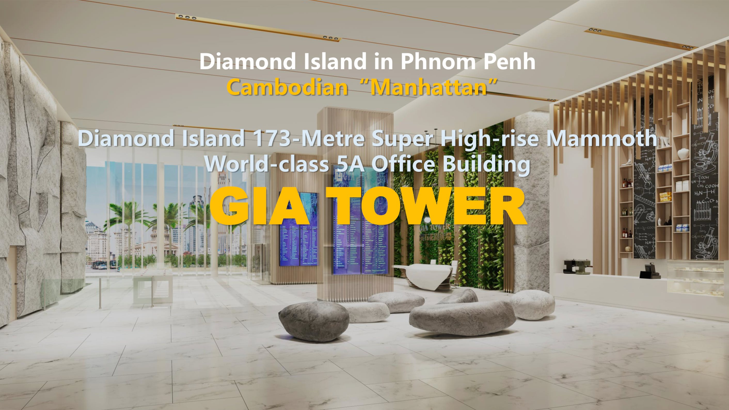 GIA Tower Phnom Penh Launch in Singapore