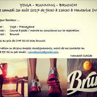 Samedi 26.08.17 - Yoga-running-brunch