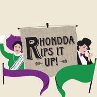 Rhondda Rips it up