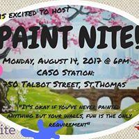 CASO Station Paint Nite