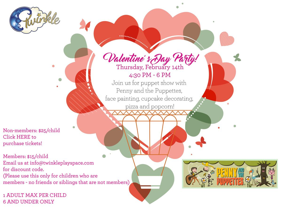 Twinkle Valentines Day Party 2019