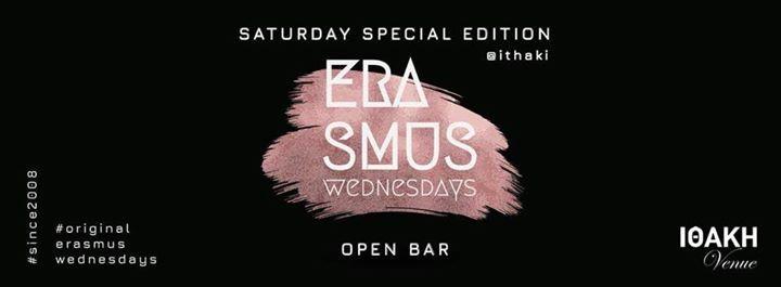 Saturday SPECIAL Edition - Erasmus Wednesdays