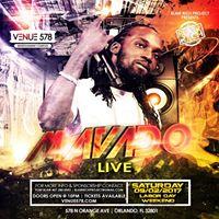 Mavado Live at Venue 578  Saturday 09.02.17