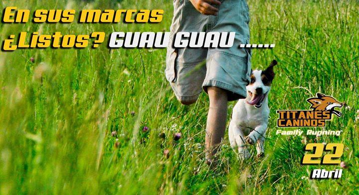 Titanes Caninos Family Running