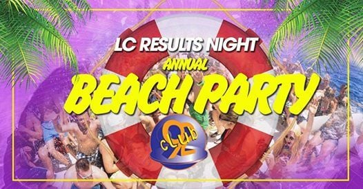 LC Results Annual Beach Party at Club 92- Use App for Guestlist