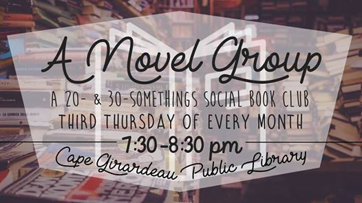 A Novel Group A 20- & 30- Somethings Book Club