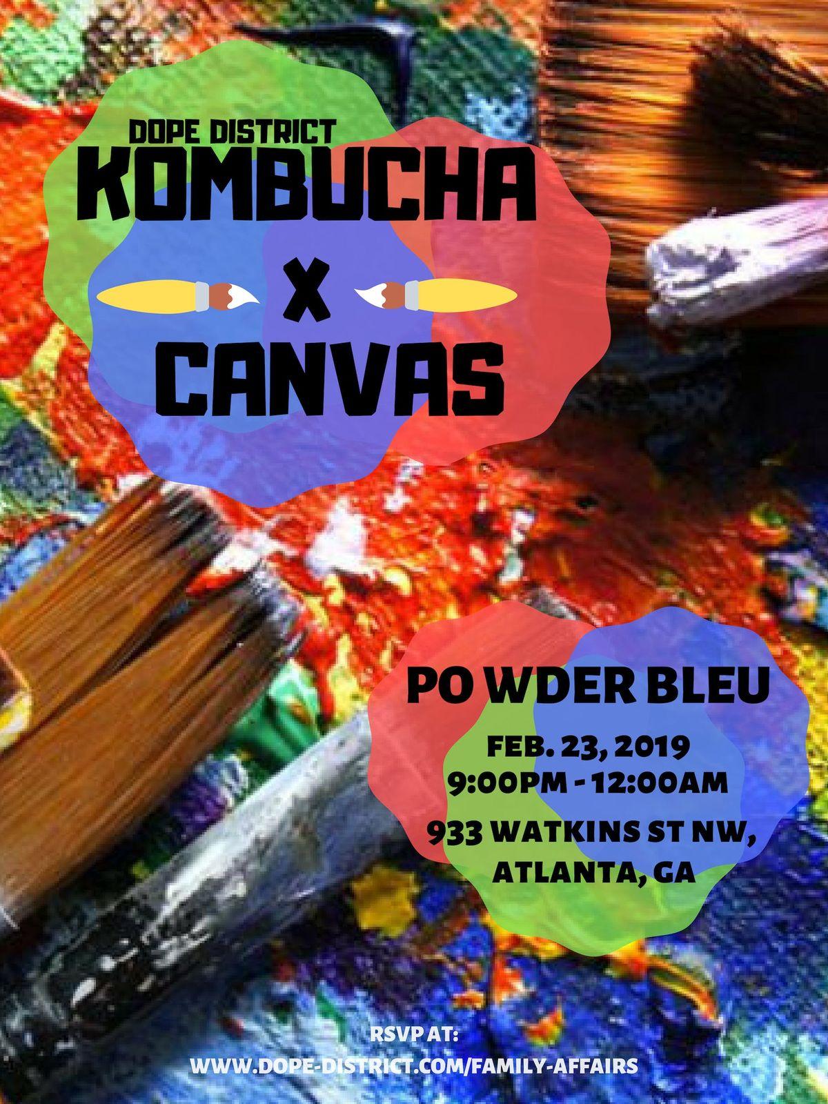 Dope District Kombucha & Canvas