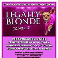 Teen Theatre Production of Legally Blonde