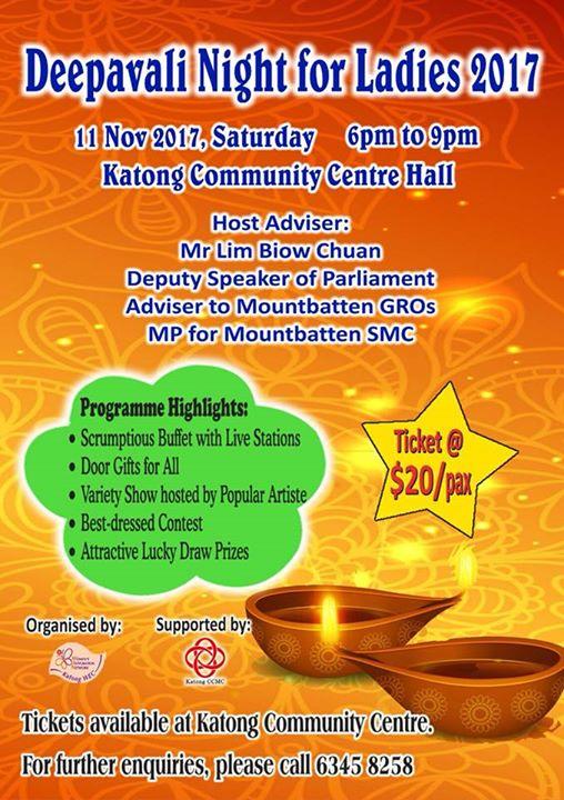 Deepavali Night for Ladies..