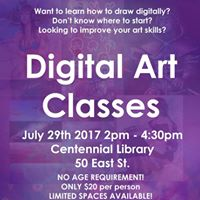 Digital Art Classes