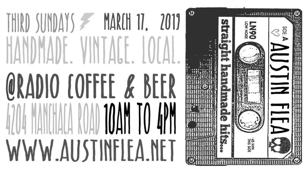 The Austin Flea at Radio Coffee & Beer
