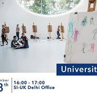 Arts University Bournemouth visiting SI-UK Delhi