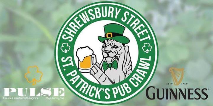 Shrewsbury Street St. Patricks Day Pub Crawl