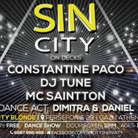 Sin City - RnB Hip Hop at Dirty Blonde  10 JAN 17