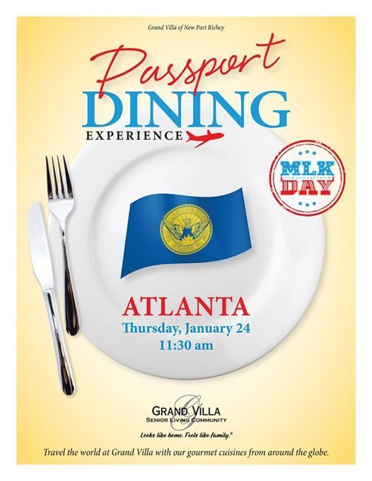 January Passport Dining Meal