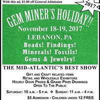 Gem Miners Holiday Show