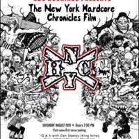 SBC Bookings Presents The New York Hardcore Chronicles Film