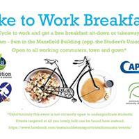 Bike to Work Breakfast - Spring Edition