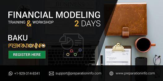 Financial Modeling Certification and Training Program in Baku 2Day Workshop