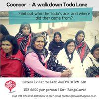 Coonoor- A Walk down Toda lane