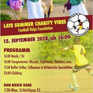 Late Summer Charity Vibes Fhf 15 09 18 At Don Bosco Haus Wien