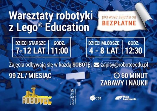 Robotyka Lego Education At Centrum Kultury Euroregionu Stara
