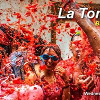 La tomatina 2017 from Valencia just 15  Official Erasmus Event