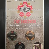 Penrose Brewing Launch Party