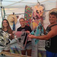 Mayu Silk Art at Huntington Beach Pier Plaza Art-A-Faire