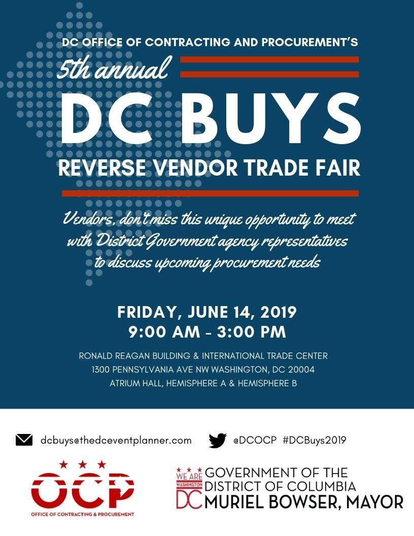 DC Buys Reverse Vendor Trade Fair 2019