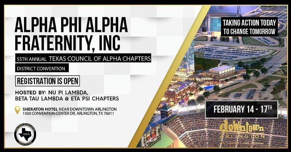 Texas Council of Alpha Chapters 2019 Convention