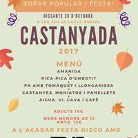 Castanyada 2017
