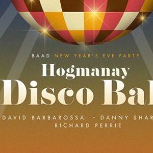 Hogmanay Disco Ball - NYE 2018