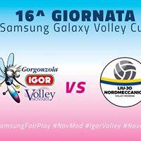Igor Gorgonzola Novara - Liu Jo Nordmeccanica Volley Modena