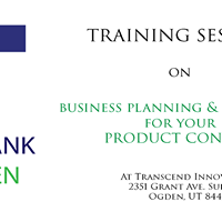 Training Session on Business Planning &amp Financials for Product Development