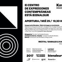 Apertura Bienalsur  Recital Samalea &amp Kabusacki