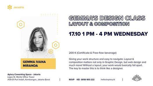 Gemmas Design Class - Layout & Composition