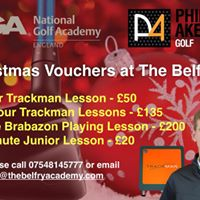 CHRISTMAS LESSON VOUCHERS AT THE BELFRY