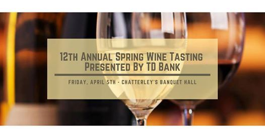 12th Annual Spring Wine Tasting Presented by TD Bank at