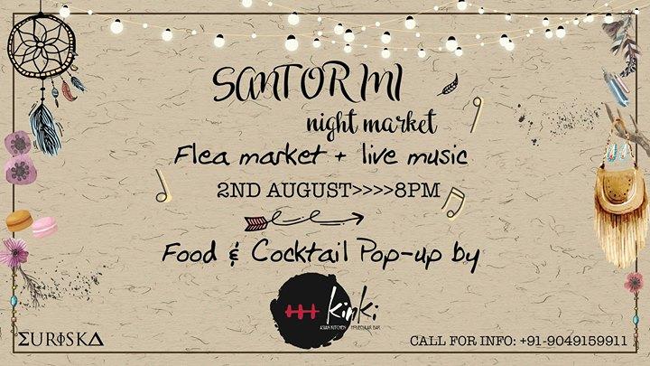 The Santorini Night Market - August 2017