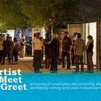 Roosevelt Row Artist Meet &amp Greet August 2017
