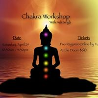 Chakra Workshop with Adi Singh