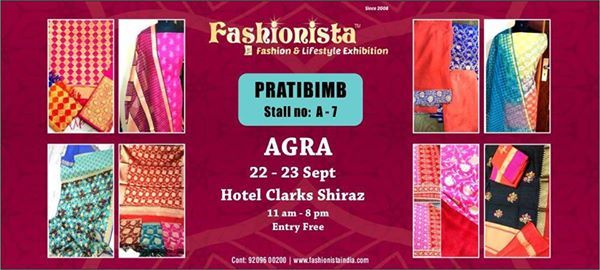 Pratibimb at Fashionista Exhibition Agra