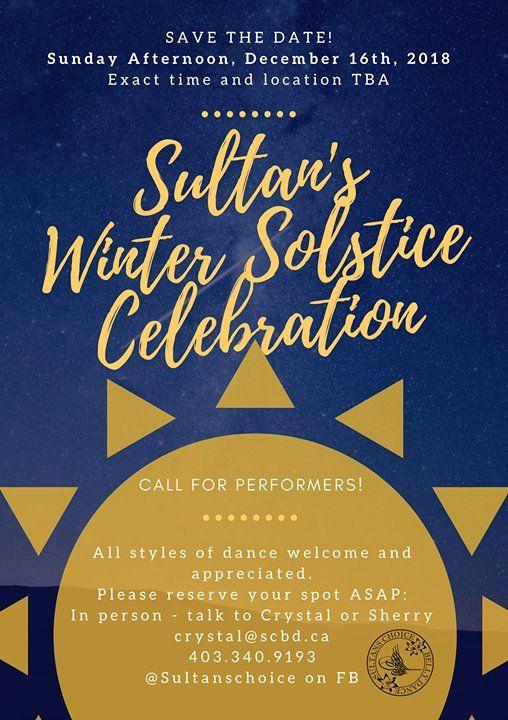 Sultans Winter Solstice Celebration