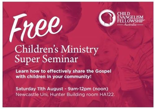 Childrens Ministry Morning