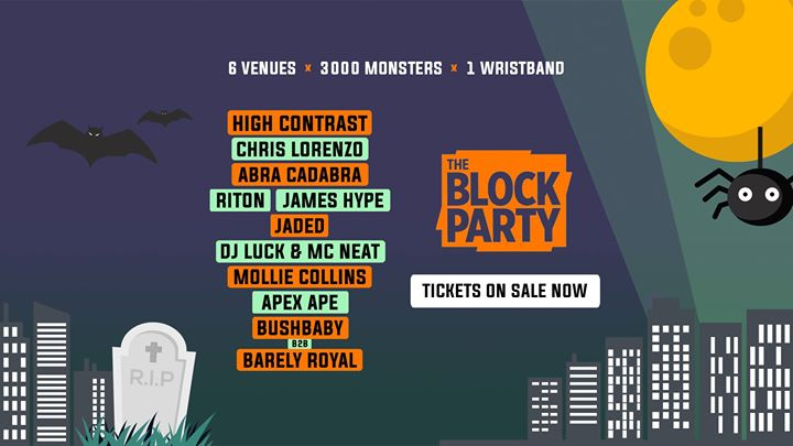 The Block Party Halloween Festival [Lineup Released]