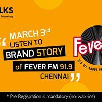 Brand Story of Fever FM 91.9 - Brand Talks